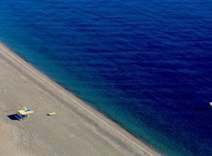 Kalathos Aerial Beach Rhodes1