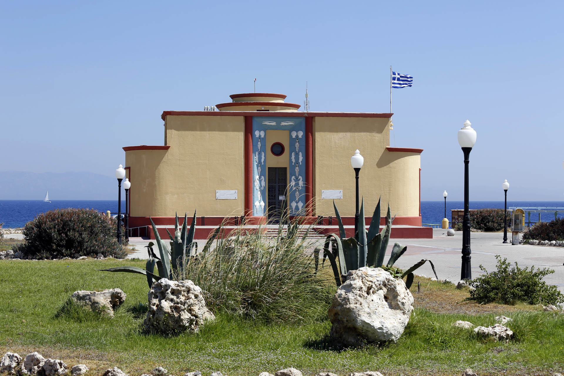 The Aquarium Of Rhodes Or Hydrobiological Station Of Rhodes