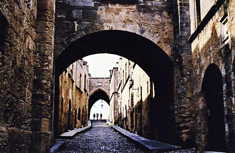 Rodoksen Keskiaikainen Kaupunki